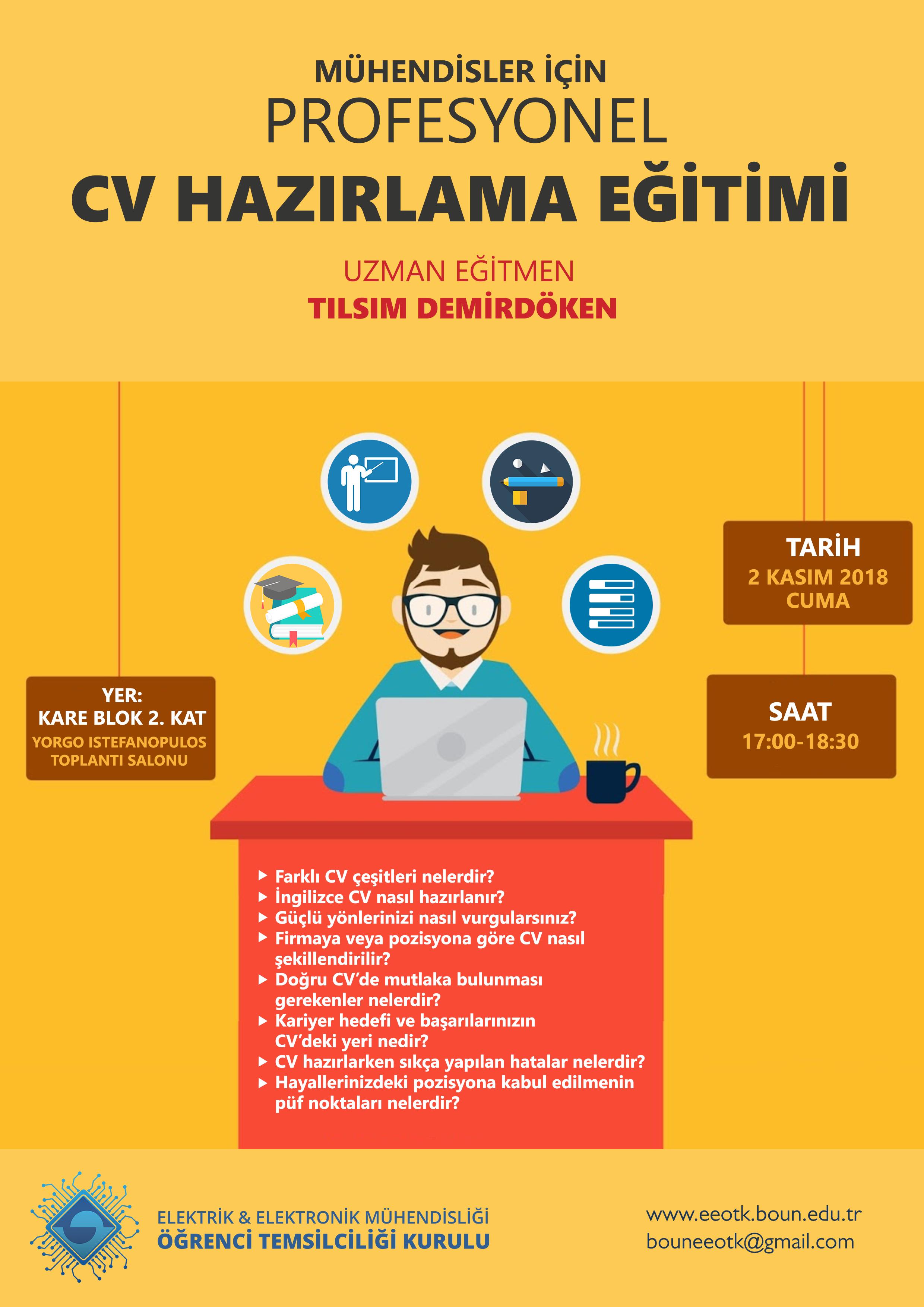Profesyonel CV Hazırlama Eğitimi