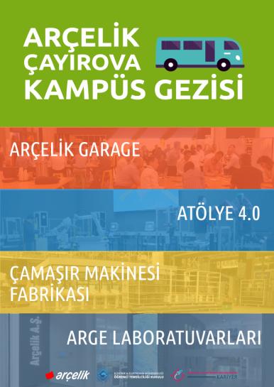Arçelik Çayırova Kampüs Gezisi